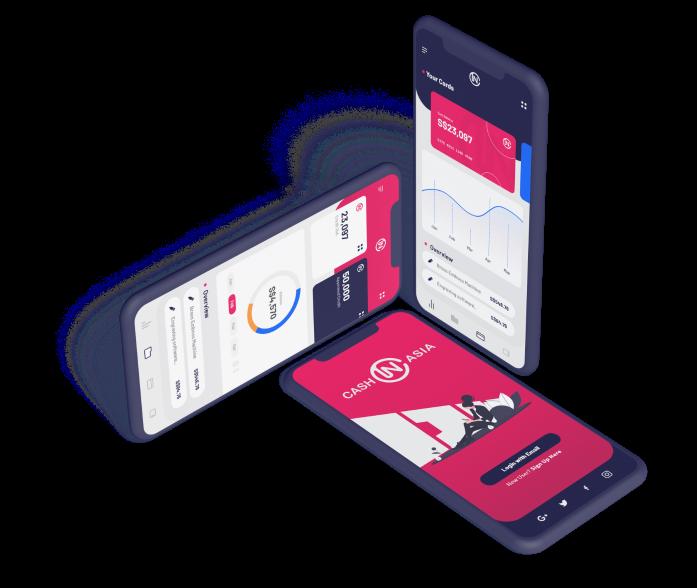 Mobile app of Cash-IN-Asia
